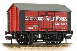 10T Covered Salt  Wagon 'Stafford Salt Works' OO Gauge
