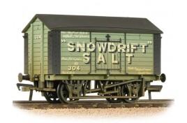 10T Covered Salt Wagon 'Snowdrift Salt' (Weathered) OO Gauge