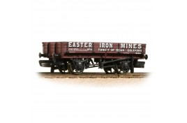 3 Plank Wagon 'Easter Iron Mines' Brown OO Gauge