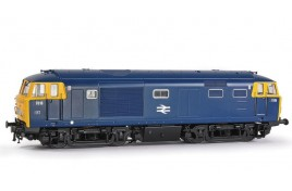 Class 35 'Hymek' 7016 BR Blue Full Yellow End With Data Panel OO Gauge