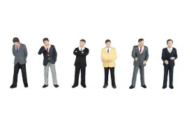 Businessmen OO Scale