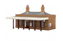 Suburban Station Building with Canopy OO Scale