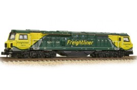 Class 70 With Air Intake Modifications 70015 Freightliner N Gauge