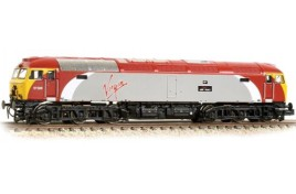 Class 57/3 57306 'Jeff Tracy' Virgin Trains (Revised) N Gauge
