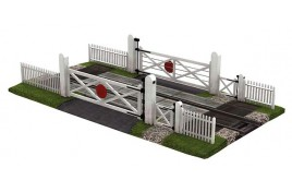 Gated Level Crossing (Single Track)