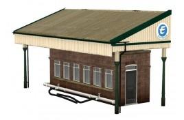 Low Relief Rail Milk Depot OO Scale