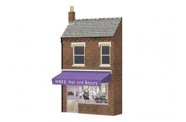 Low Relief Hines Hair and Beauty Salon OO Scale