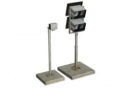 Platform Monitors and Camera (non-operational) OO Scale