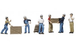 Dock Workers HO Scale