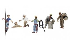 City Workers HO Scale