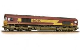 Class 66/0 66065 Ex-EWS (DB Schenker) Weathered OO Gauge