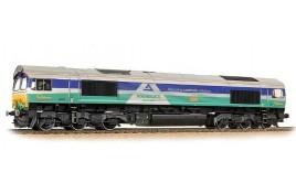 Class 66/7 66711 'Sence' GBRf Aggregate Industries OO Gauge