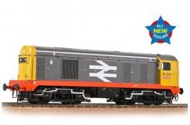 Class 20/0 Headcode Box 20227 BR Railfreight (Red Stripe) OO Gauge