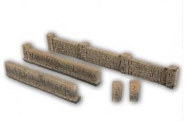 Sandstone Hard Foam Walling 105x1.8cm HO Gauge