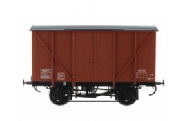 10' Chassis Wagon B769392 Planked Van Bauxite O Gauge