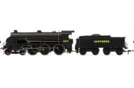 SR, Maunsell S15 Class, 4-6-0, 827 OO Gauge