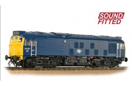 Class 24/1 24137 BR Blue sound fitted  OO Gauge