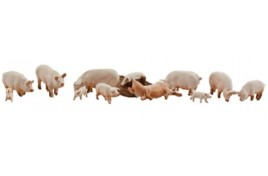 Yorkshire Pigs HO Scale