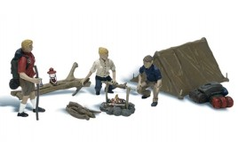 Campers HO Scale