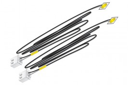 Yellow Stick-On LEDs x 2