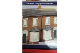 Low Relief Front Terraced Houses OO Scale