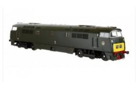 Class 52 D1035 Western Yeoman Green SYP OO Gauge