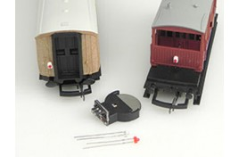 Automatic Tail/Coach/Firebox Light (Flickering Flame) effect (LEDs) OO Scale