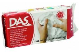 DAS Air Drying Modelling Clay - White 150g