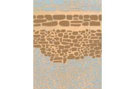 FBS216 Random Stone Walling x 2 Sheets N Scale