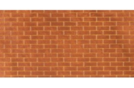 FBS201 Plain Bond Brick x 2 Sheets N Scale