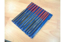 Set of 10 Steel Warding Files in wallet