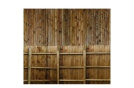BM020 Solid Wood Fencing A4 Size Self Adhesive Sheets Pack of 10 OO Scale