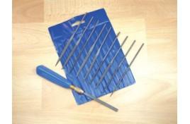 10pc Needle File Set with handle