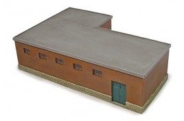 Hampton Heath Colliery Pit Head Baths N Scale