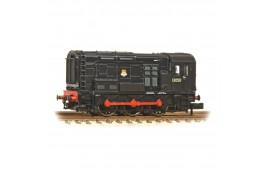 Class 08 13050 BR Black Early Emblem N Gauge