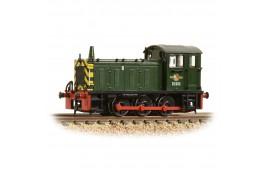 Class 04 D2283 BR Green Warning Stripes N Gauge