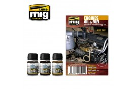 Engine Oil And Fuel Enamel Weathering Set