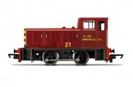 Railroad  G. Lee Mining Co. Ltd, Bagnall 0-4-0DH - Era 6 OO Gauge