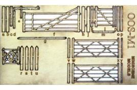 OO Gauge Wooden Rural Gates