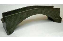OOBR2 Single Track Road Bridge - Card & Laser Cut Wood Kit OO Scale