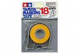 Masking Tape with Dispenser 18mm x 18m