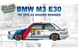 Nunu 1/24 Racing Series BMW M3 E30 Group A 1988 Spa 24 Hours Winner