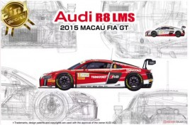 Nunu 1/24 Racing Series Audi R8 LMS GT3 2015 FIA GT3 World Cup