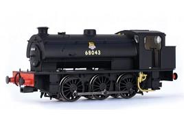 J94 Saddle Tank 68043 BR Black (Early Emblem) OO Gauge