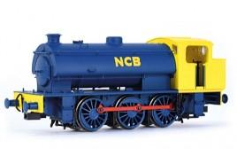 J94 Saddle Tank No. 19 NCB Blue & Yellow OO Gauge