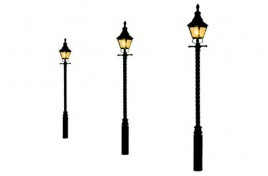 Barley Twist Gas Lamp Soft Black (3)