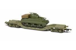 Warwell With Sherman Tank OO Gauge