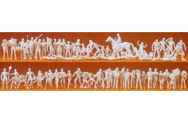 Sports And Leisure Unpainted Figures x 80 OO/HO Gauge