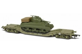 Warwell No36 with Sherman Tank OO Scale