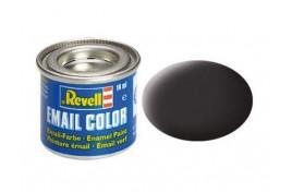 Revell Solid Tar Black Matt Enamel 14ml No.6